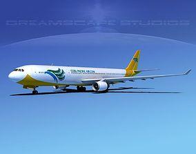 3D model Airbus A330-300 Cebu Pacific