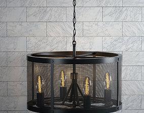 3D model Chandelier Loft Design