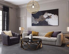 3D Living Room 060