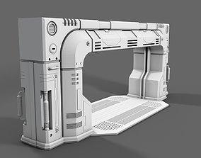 Spacestation Gate 3D
