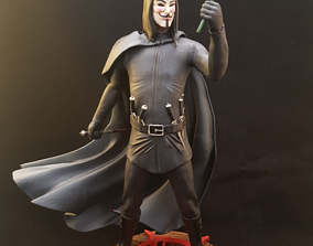 3D print model V for Vendetta