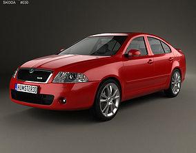3D Skoda Octavia RS liftback 2005