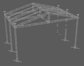 3D model Prolyte ST 18x14 roof