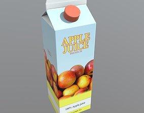 Apple Juice 3D asset