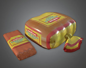 Hot Dogs and Buns Camping - CMP - PBR Game Ready 3D asset