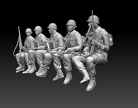 3D printable model ussr soldiers tank crew