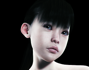 Yukimi for Genesis 2 Female 3D model