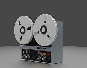3D asset Revox A77 Vintage Tape Machine