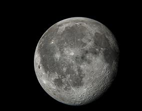 3D model Moon Si-fi