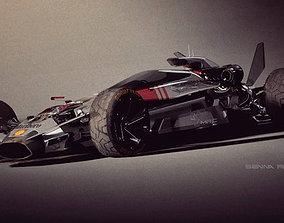 Senna Rally Fighter V12 3D asset