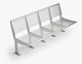 Capri Bench - Type B 3D