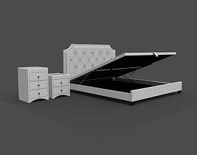 Bed Hydraulic Storage 3D asset