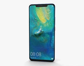 Huawei Mate 20 Pro Midnight Blue 3D
