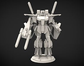ZZ Gundam 3D print model