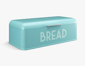 Bread Box 3D asset