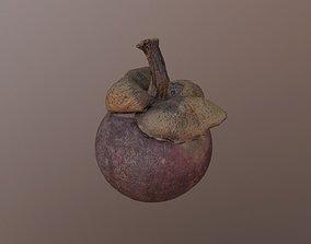 Purple mangosteen 3D model