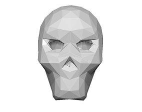 Skull Helmet 3D printable model