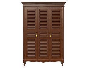 3D model Classic cabinet 06 06