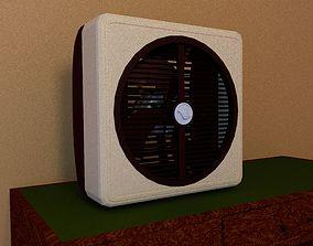 3D Air Circulator 80s model
