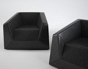 FX10 Lounge Chair 3D model