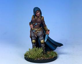 girl thief 3D printable model