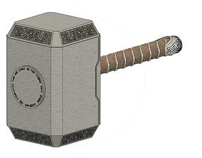 Mjolnir - Thors Hammer - Marvel 3D printable model