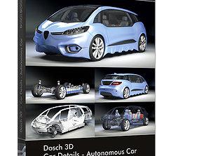 DOSCH 3D - Car Details - Autonomous Car future