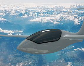Genesis 2B flying wing sailplane 3D model