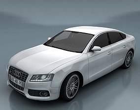 3D asset Audi S5 Sportback