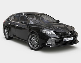 vehicle 3D model Toyota Camry 2018