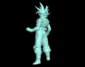 Goku Ultra Instinct 3D print model