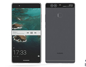 Huawei P9 Plus - Element 3D