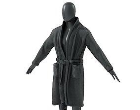 Mens Robe 1 3D model