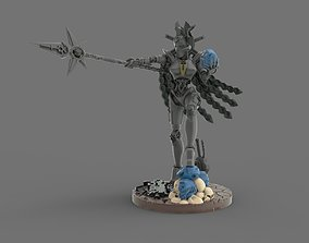 Female Necro Lord 3D printable model