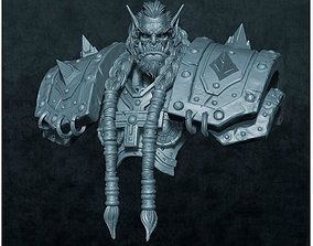 Thrall orc 3d model for 3d printing
