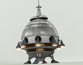 Extra Terrestrial HOME PHONE 1 Starship 3D