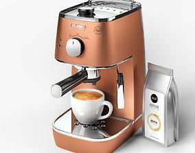 3D model DeLonghi Distinta ECI 341 CP Coffee