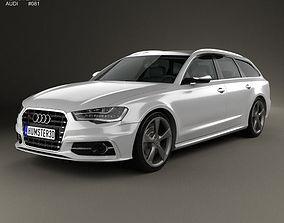 3D Audi S6 avant 2014