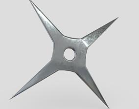 Shuriken 4 3D model