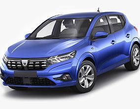 Dacia Sandero 2021 3D