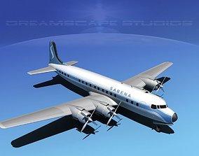 3D Douglas DC-7C Sabena