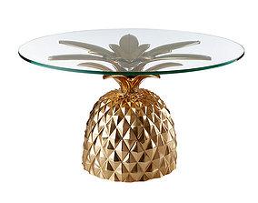 3D model pineapple table
