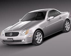 3D Mercedes SLK R170 1996-2004