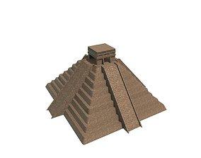 Mayan Temple 3D asset realtime