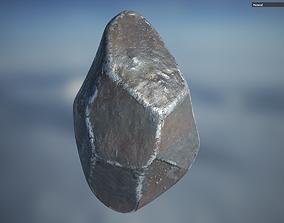 3D asset Iron Rock