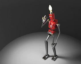 Lamp Robot 3D printable model