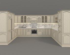 European Style Kitchen 4 3D model