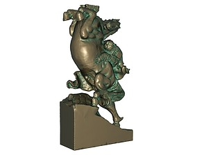 3D printable model Copper Horse