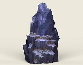 Stone Rock 09 3D model