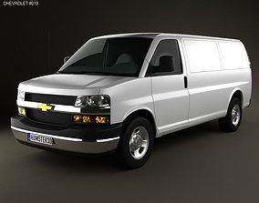 3D Chevrolet Express 2011